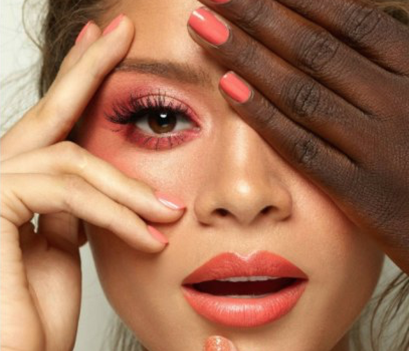 Living Coral Makeup – Pantone Color Of The Year 2019