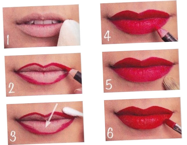 8 Tips to Apply a Red Lipstick Properly.
