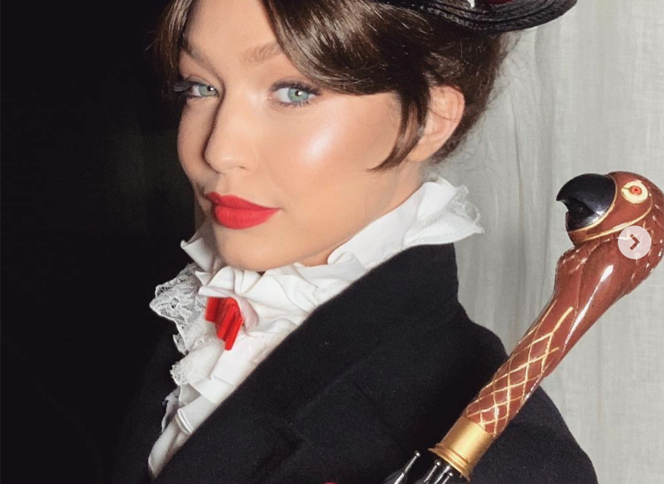 Steal Her Makeup Look: Gigi Hadid at Taylor Swift's New Year's Eve Party