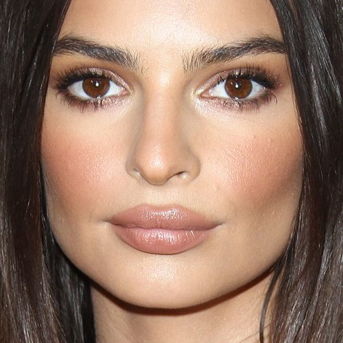 Emily Ratajkowski's Autumn Eyeshadow Makeup