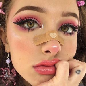 egirl makeup look examples