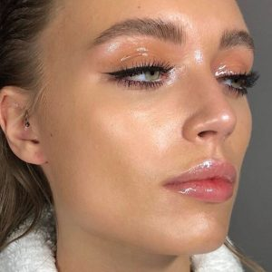 All wet makeup look example
