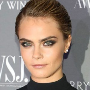 cara delevingne pixie hair makeup