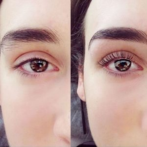 Lashlifting Before&After