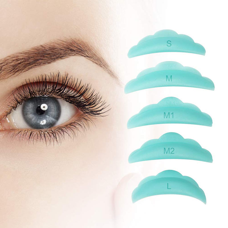Eyelash Lifting Slicone Pad Size