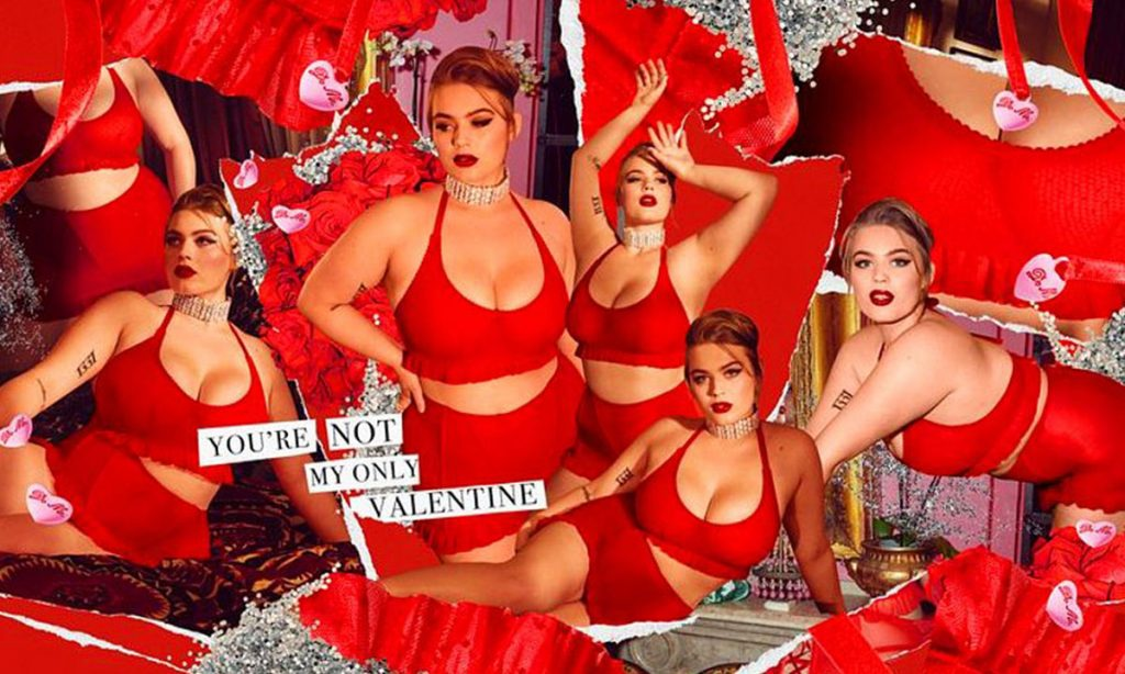 Savage X Fenty Lingerie You're Not My Only Valentine